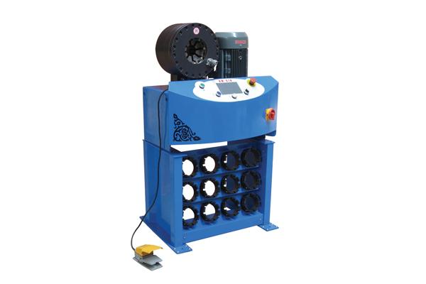 Máquina de friso da mangueira hidráulica de alta pressão para a promoção da empresa de pequeno porte